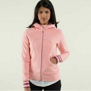 Lululemon scuba hoodie light pink